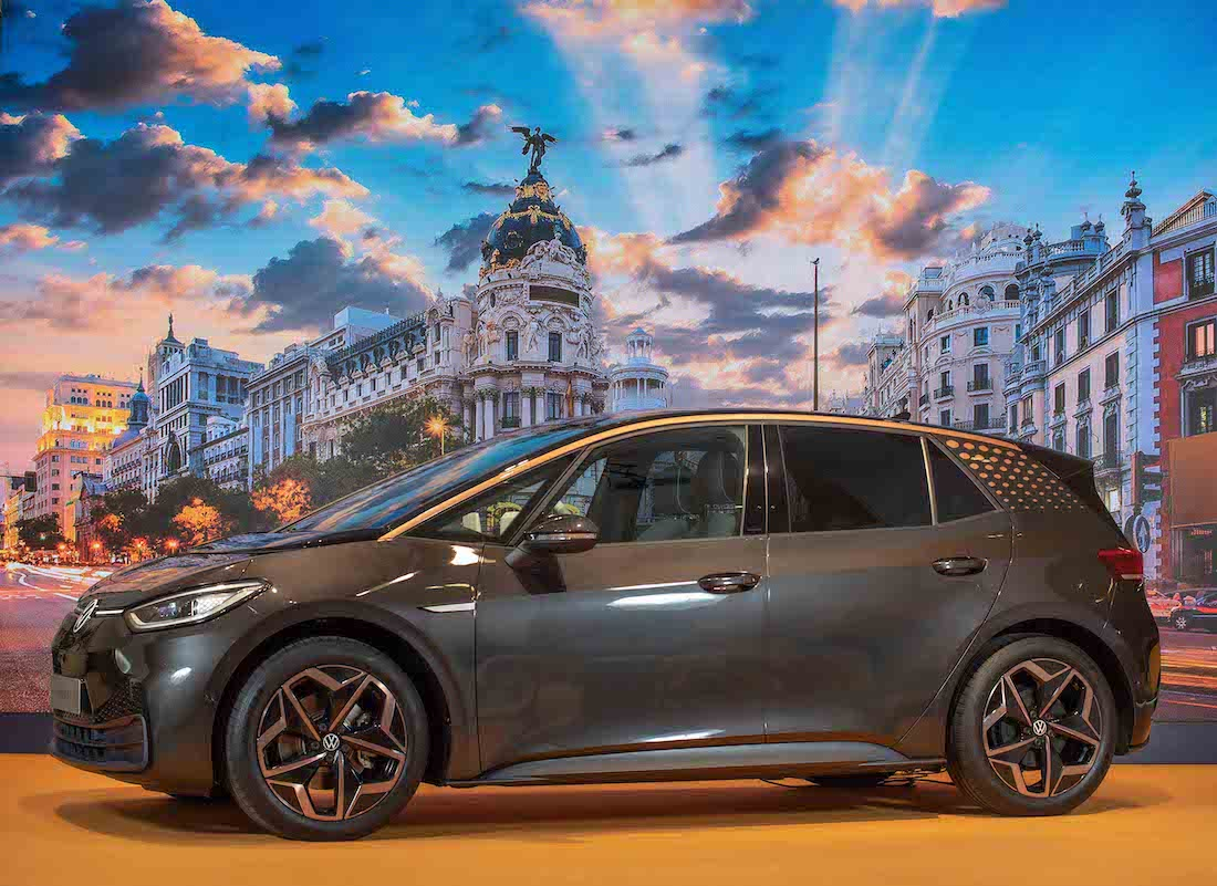Presentación del VW ID.3 en Madrid.