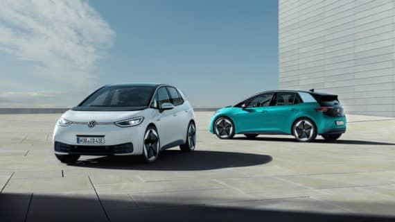 Volkswagen alimenta con el ID.3 el apetito de las empresas por los eléctricos