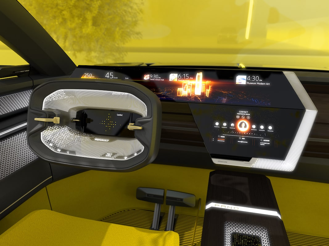 Renault presenta el eléctrico Morphoz en el Salón de Ginebra.