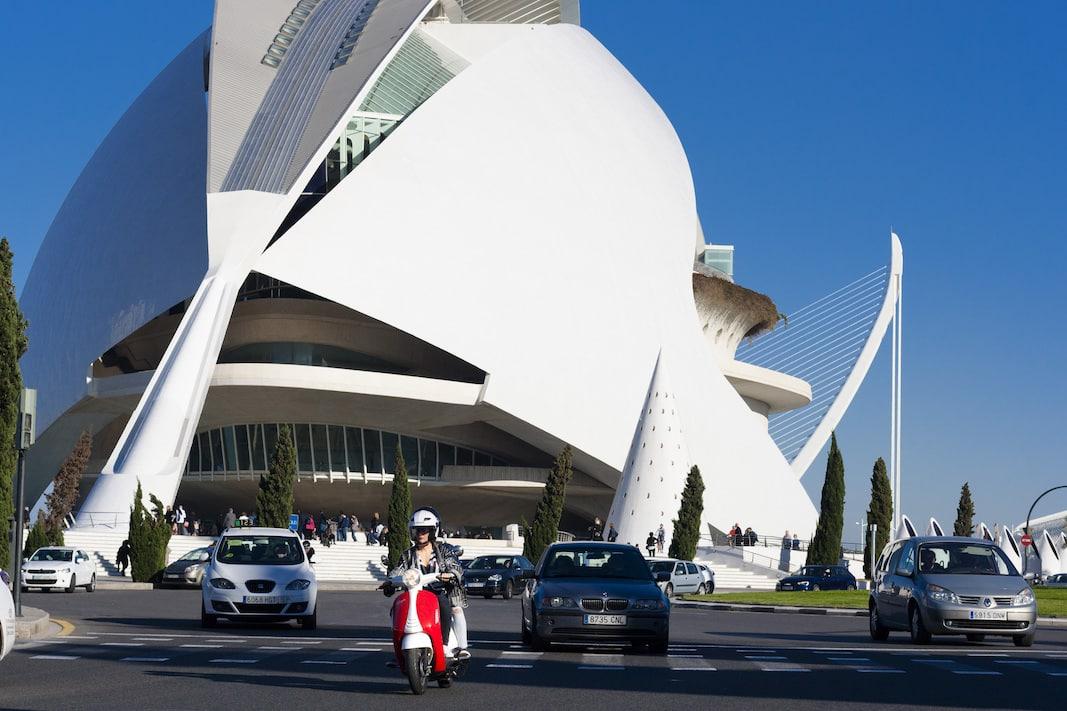 Palacio de las Artes y las Ciencias, en valencia. VIVITTA