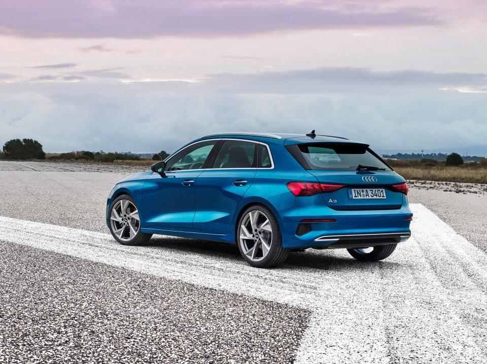 Audi revela a las empresas su A3 Sportback más digitalizado y deportivo