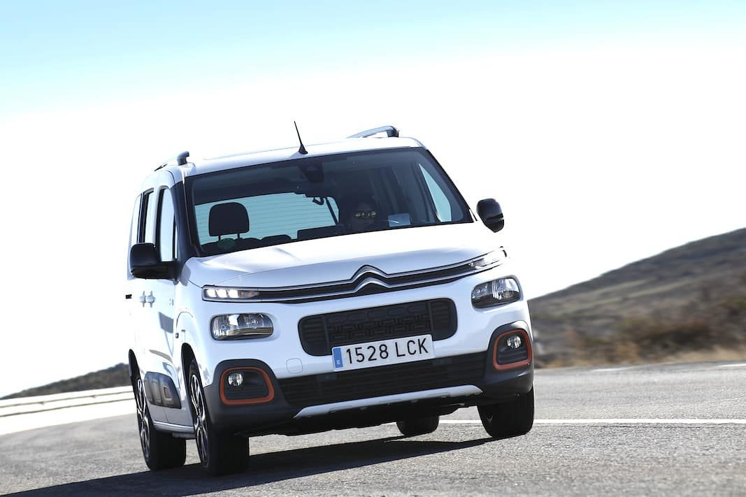 La vía corporativa más automática del Citroën Berlingo