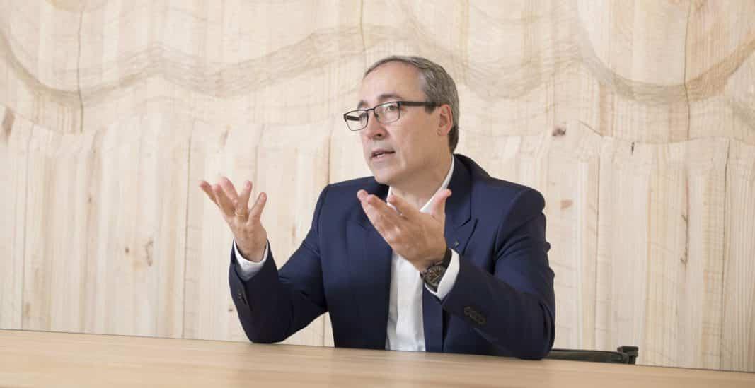 Mikel Palomera es director general de Seat. Fotografía de Constanza Belda