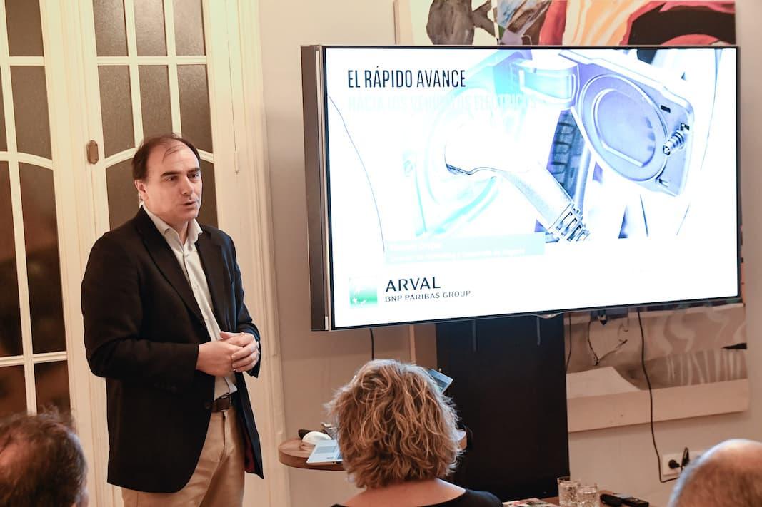 Manuel Orejas es director Comercial y de Marketing de Arval. FOTOGRAFÍA: ARVAL