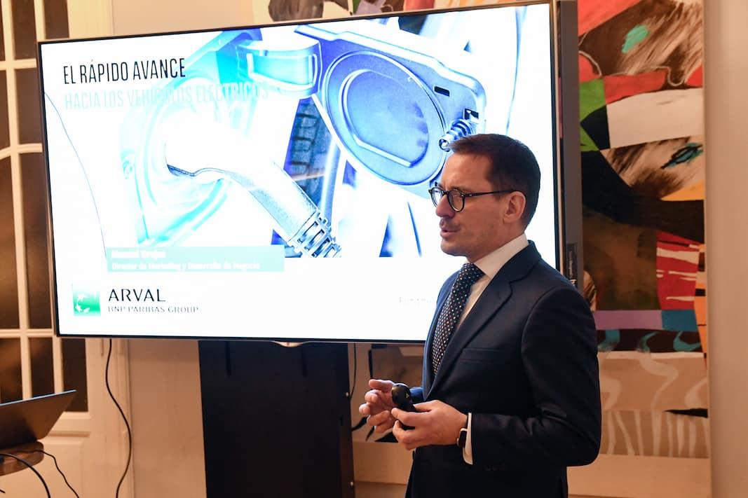 Eduardo Lahoz, head of Consulting de Arval. FOTOGRAFÍA: ARVAL