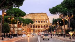 WLTP, Italia, Via dei Fori Imperali, Roma. Boris Stroujko
