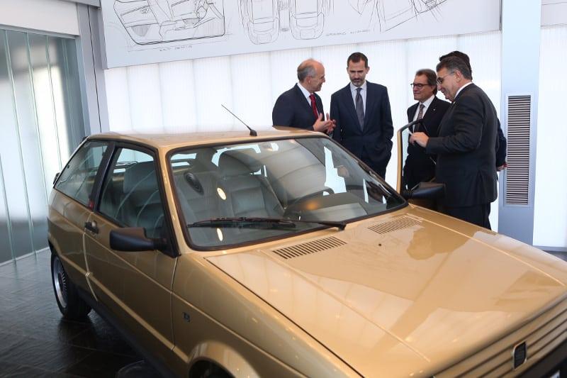 El Rey y Sánchez visitarán la factoría de Seat en Martorell