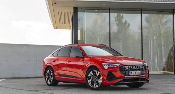 Audi e-tron Sportback, la bella referencia corporativa para el mundo SUV