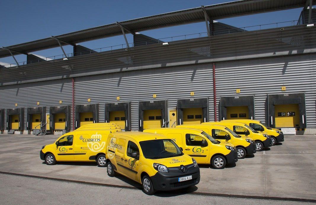 Correos abre licitación para 200 furgonetas eléctricas por 7,2 millones