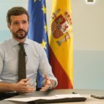 Pablo Casado es presidente del Partido Popular en España.