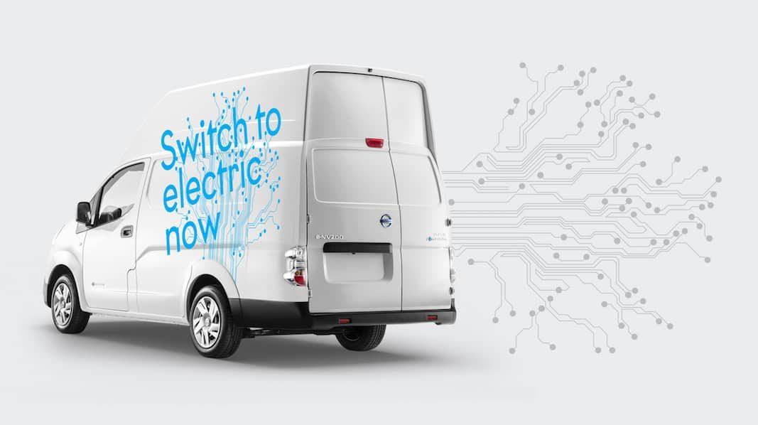 Nissan lanza la NV200 eléctrica tamaño XL para última milla
