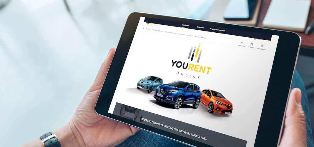 Renault lanza un renting exprés 'on line' para clientes particulares