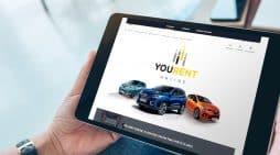 You Rent es la nueva fórmula de renting online exprés de Renault.