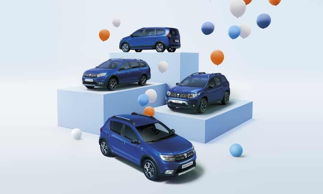 Dacia lanza una serie especial de Sandero, Logan MCV, Duster y Lodgy