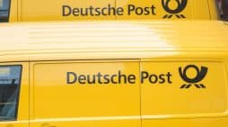 deutsche post flotas alemania