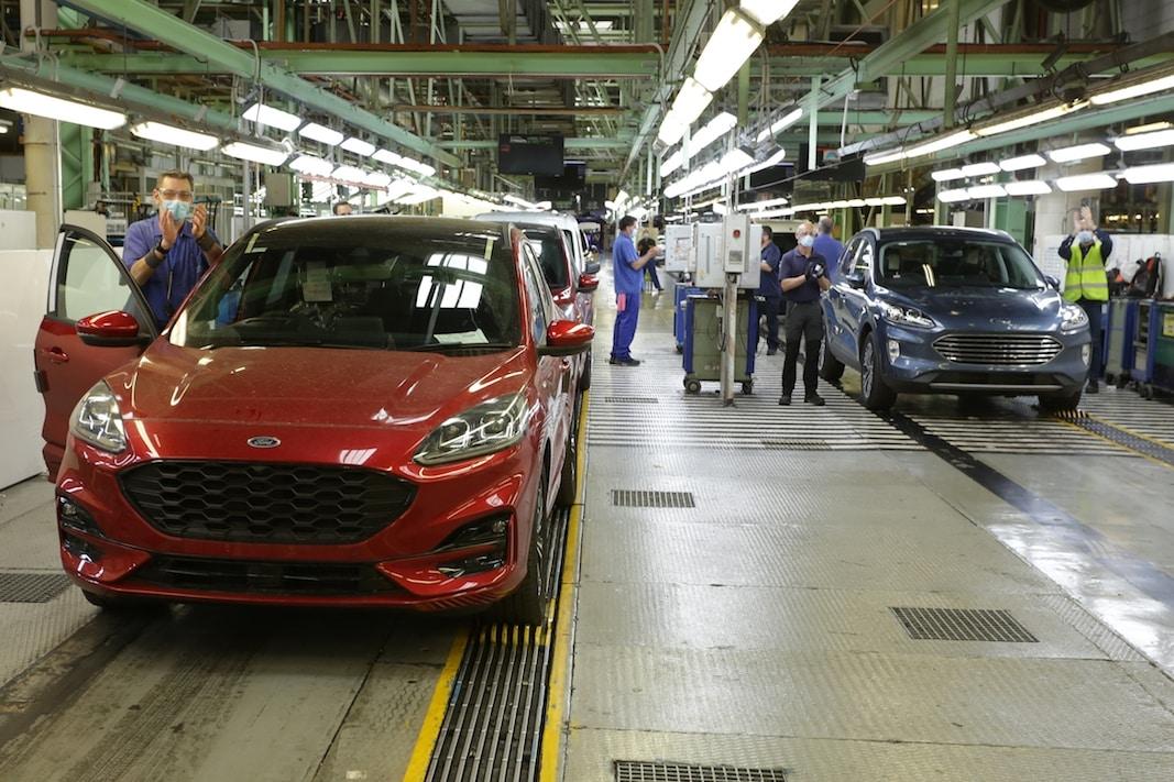 Factoría de Ford, en Almussafes (Valencia).