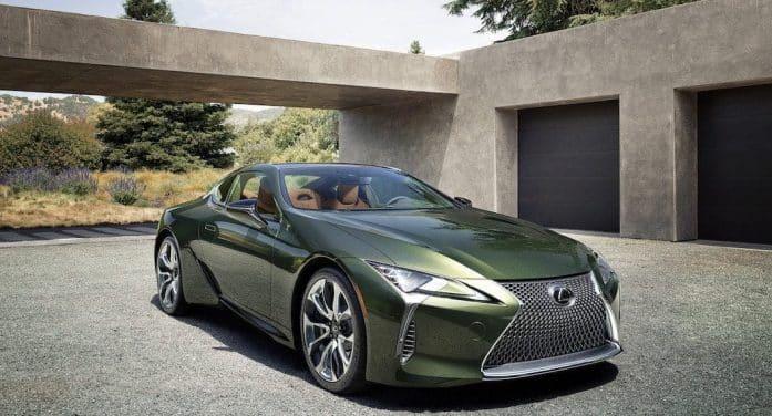 Lexus actualiza su LC 500 híbrido y le añade más 'power'