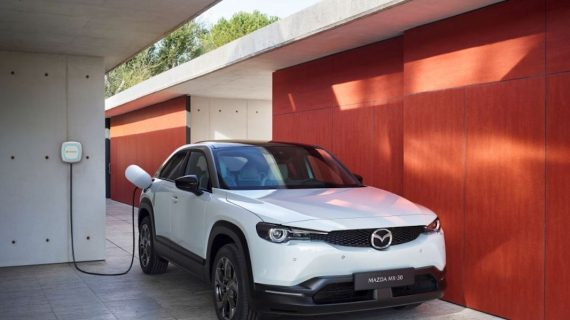 Iberdrola y Mazda diseñan el suministro de puntos de recarga