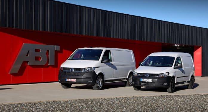 Volkswagen Vehículos Comerciales lanza los Caddy y Transporter eléctricos