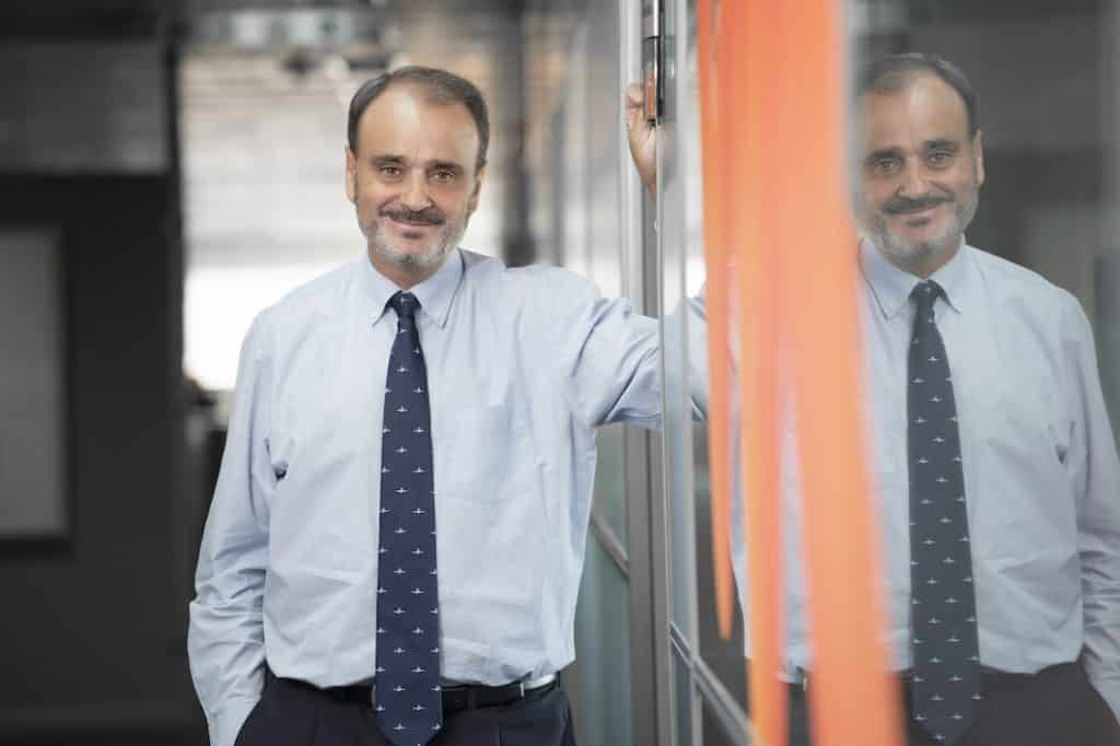 Alberto Sáez es consejero delegado de LeasePlan España. FOTOGRAFÍA: LEASEPLAN