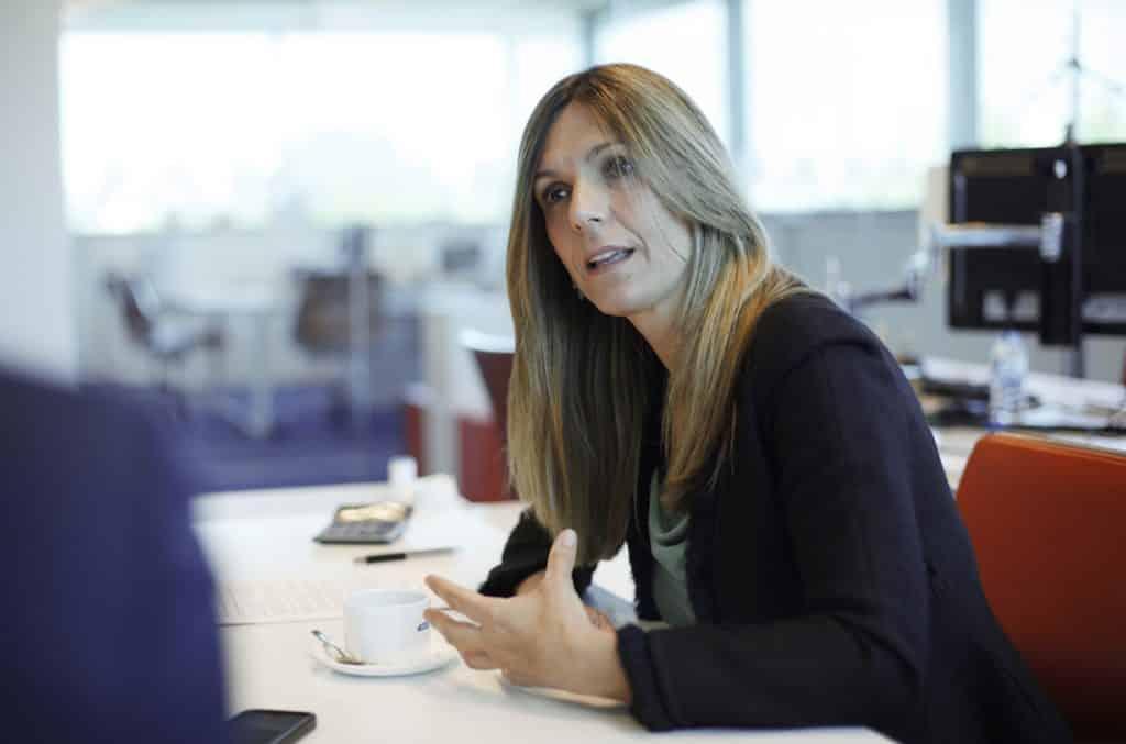 Rocío Carrascosa es la primera ejecutiva de Alphabet en España. FOTOGRAFÍA: FERNANDO ARÚS @FLEET PEOPLE