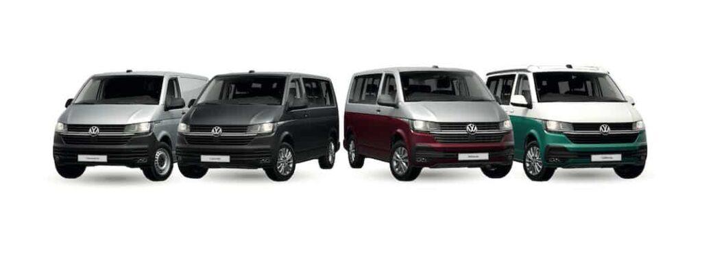 La nueva gama T6 de Volkswagen Vehículos Comerciales ya está disponible en el mercado profesional. FOTOGRAFÍA: VOLKSWAGEN