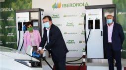 Iberdrola estacion recarga electrica premium