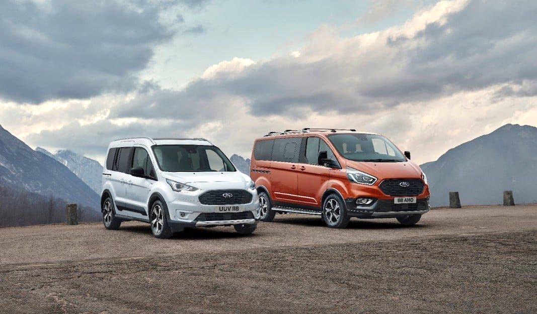 Ford prepara nuevas versiones de Tourneo y Transit Connect
