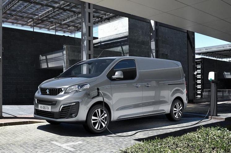 Peugeot lanza el Expert eléctrico, con 330 kilómetros de autonomía