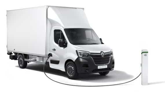 Renault introduce una versión nueva al Master eléctrico