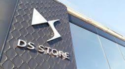 fachada de un concesionario de DS, la marca de lujo de PSA.