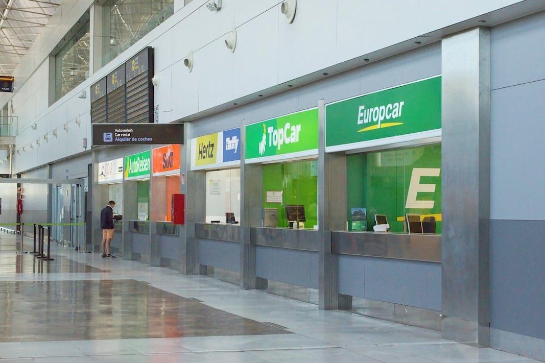 El rent a car español pierde un 72% de sus ventas en la crisis sanitaria