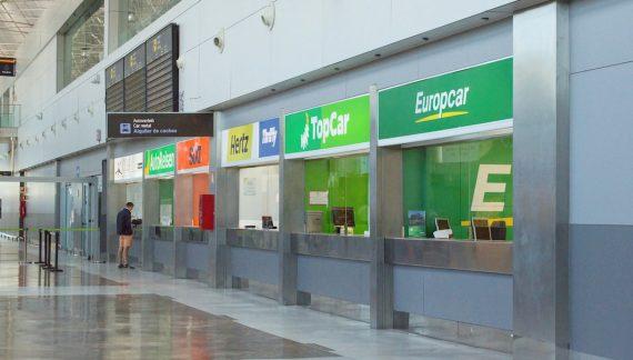 Los ingresos del rent a car cedieron un 73% en 2020 en España, con 480 millones