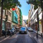 Tráfico en Las Palmas de Gran Canaria. renting