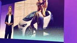 Laura Ros directora Volkswagen, en la presentación del ID.3
