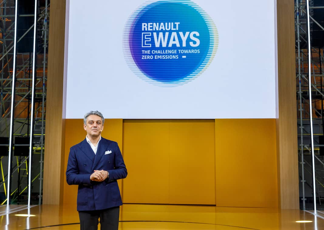 Luca De Meo es CEO de Renault.