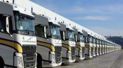 primafrio flota de camiones Volvo