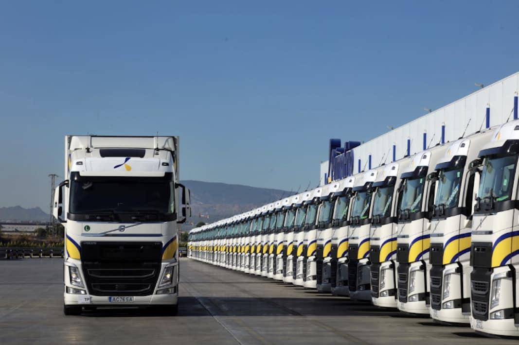 primafrio flota de camiones Volvo octubre 2020