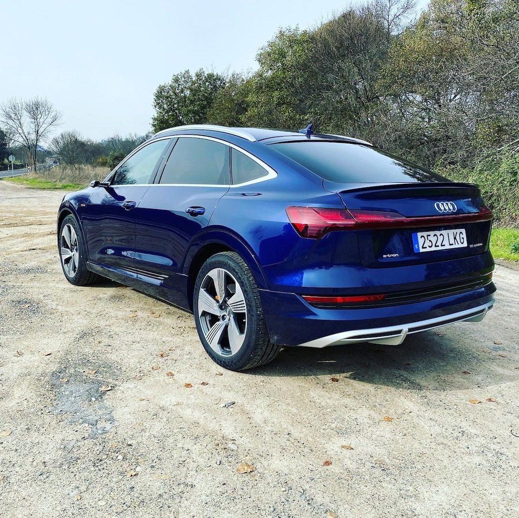 Audi traza con el e-tron Sportback el 'benchmark' del lujo eléctrico para flotas