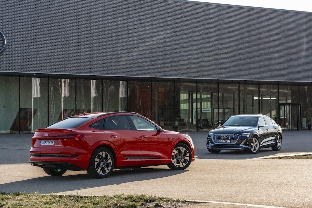 Audi ofrecerá cuatro eléctricos y 10 enchufables en 2021