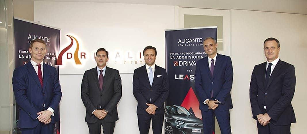 Leasys adquiere la rent a car alicantina Drivalia: 4.000 vehículos