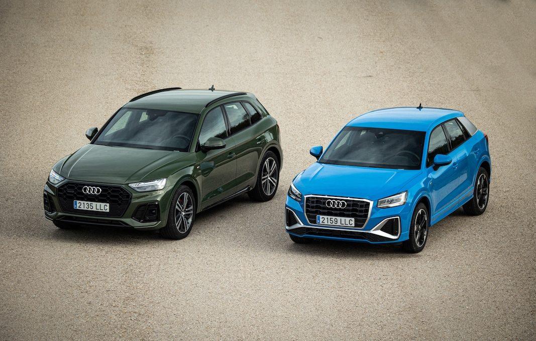 Audi rediseña a fondo los SUV Q2 y Q5 para impulsar su idilio con las flotas