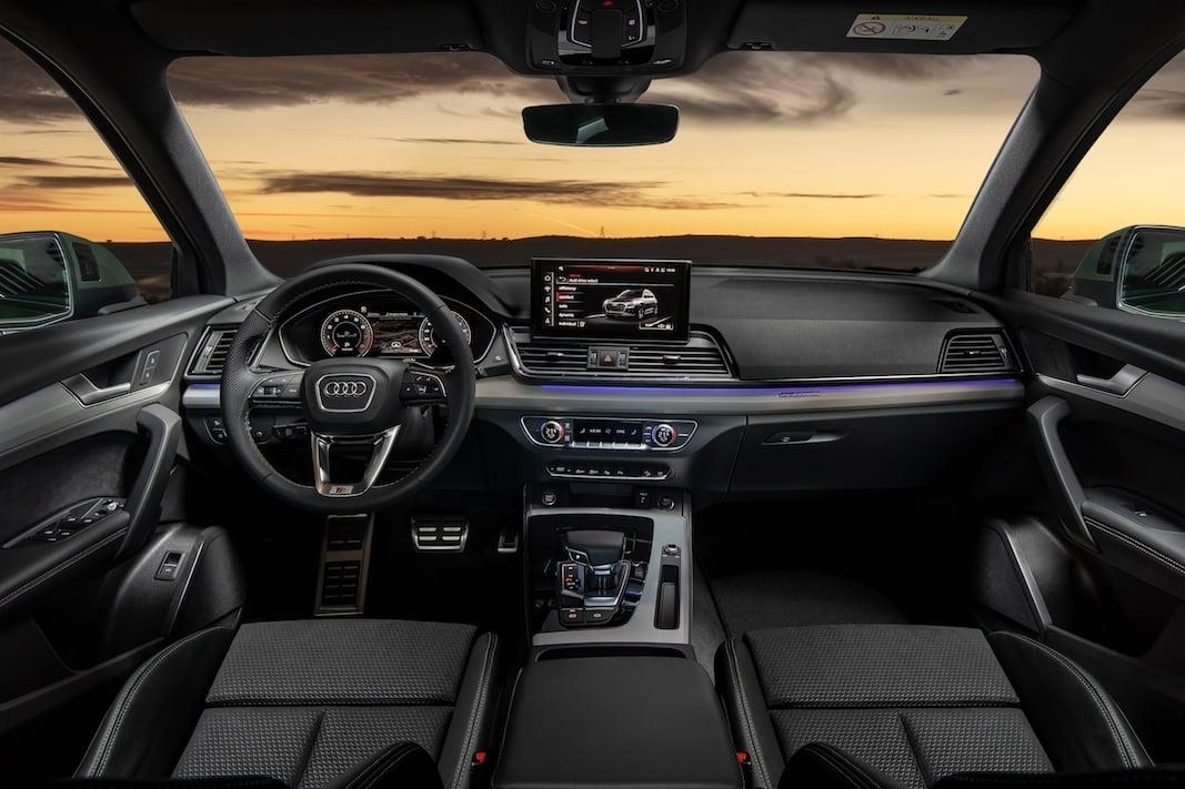 Habitáculo del Audi Q5.