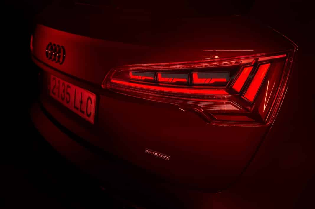 Tecnología Oled del Audi Q5.