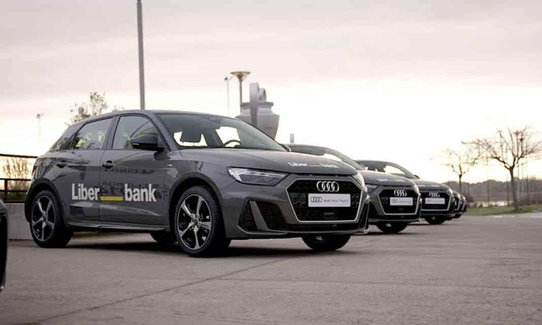 Audi suministra una flota de cien vehículos a Liberbank