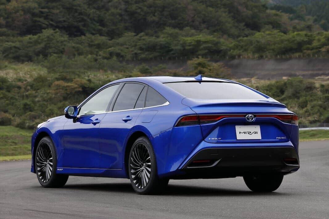 Toyota Mirai: Siga a ese taxi —de hidrógeno—, por favor