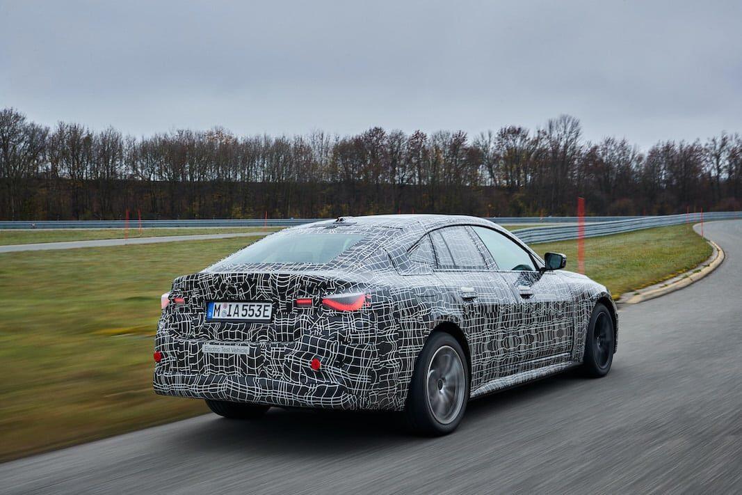 El BMW i4 100% eléctrico tendrá hasta 600 kilómetros de autonomía