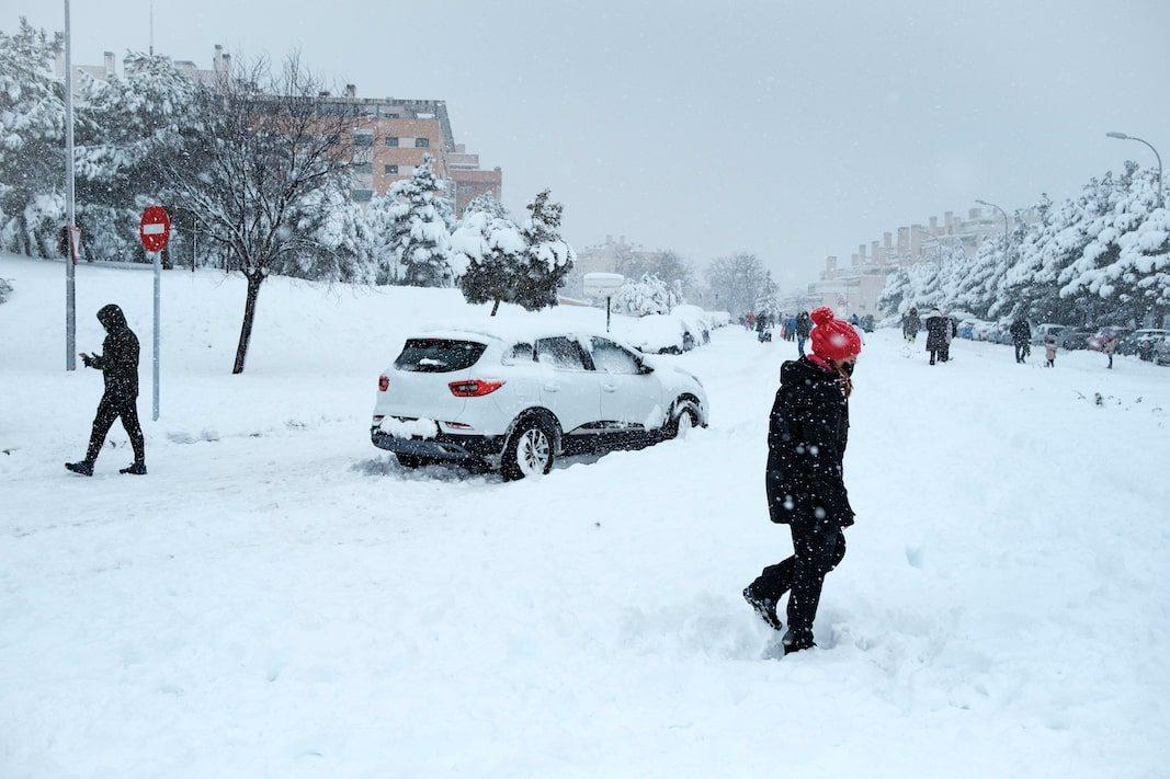 España tiene un 3% de neumáticos de invierno, por el 30% europeo