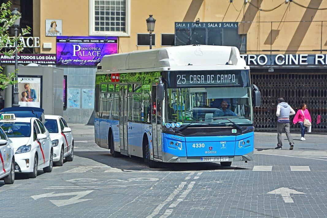 Castrosua fabricará un bus eléctrico sobre un chasis de Scania