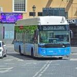 Un autobús de Castrosua Scania, en Madrid. De Martyn Jandula